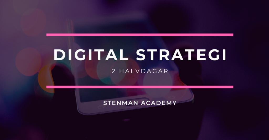 Digital strategi Stenman